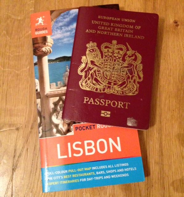 guide book passport